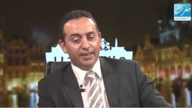 "صورة Hassan Abkari sur Maghreb TV ""bonsoir Bruxelles"""